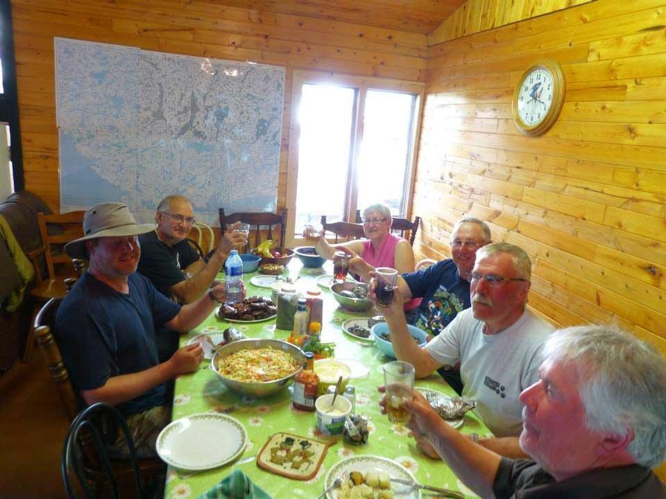 Dining Room/Bar at Namushka Lodge