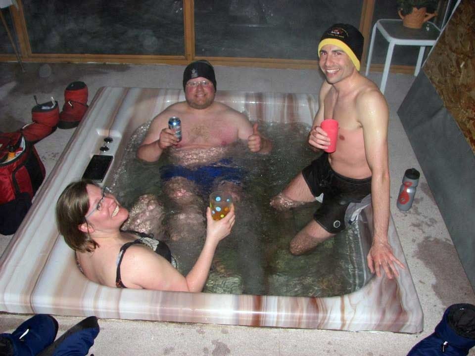 Hot Tub at Namushka Lodge