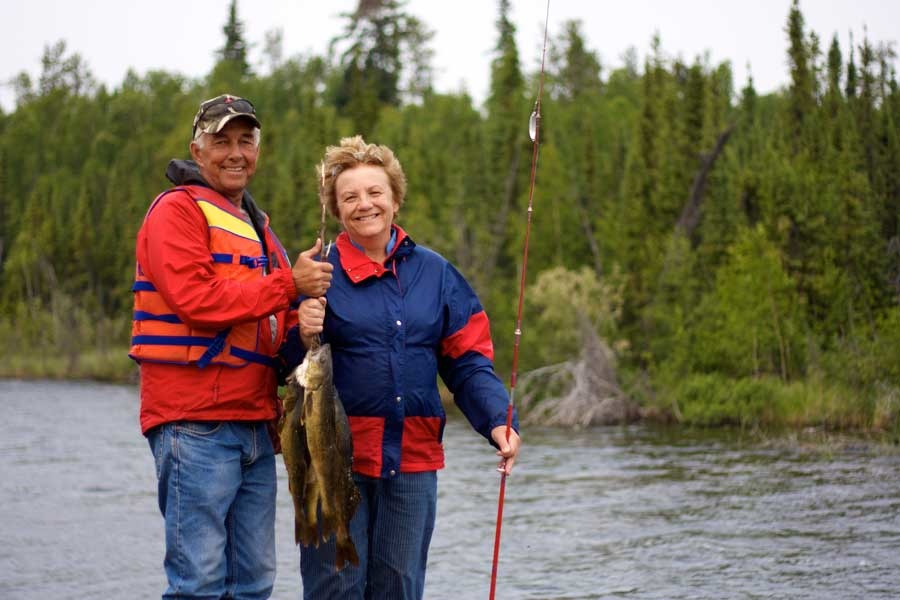 Unforgettable fishing at Namushka Lodge in Yellowknife, Northwest Territories